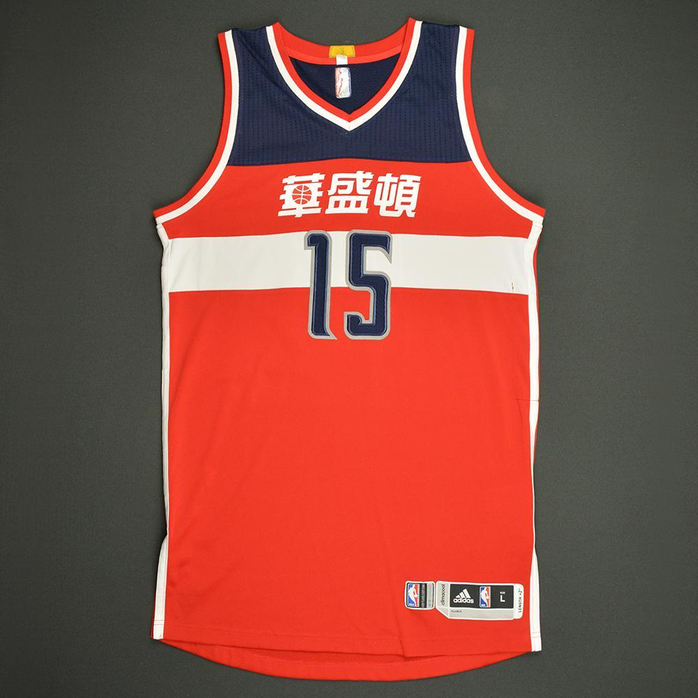 Marcus Thornton - Washington Wizards - Game-Worn Red Chinese New Year Jersey - Dressed, Did Not Play - 2016-17 Season