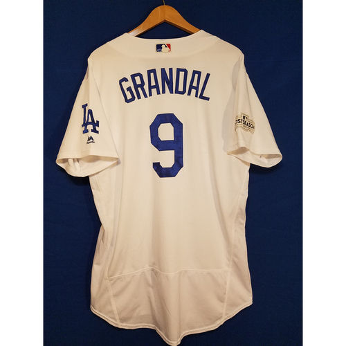 Photo of Yasmani Grandal Home 2017 Team-Issued Post Season Jersey