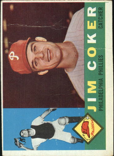 Photo of 1960 Topps #438A Jim Coker WB