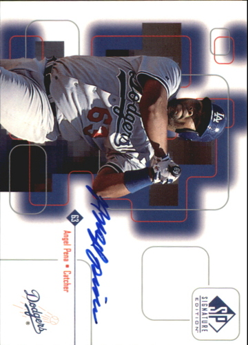 Photo of 1999 SP Signature Autographs #AP Angel Pena