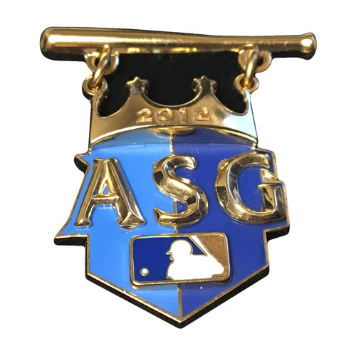 Photo of 2012 All-Star Game Press Pin