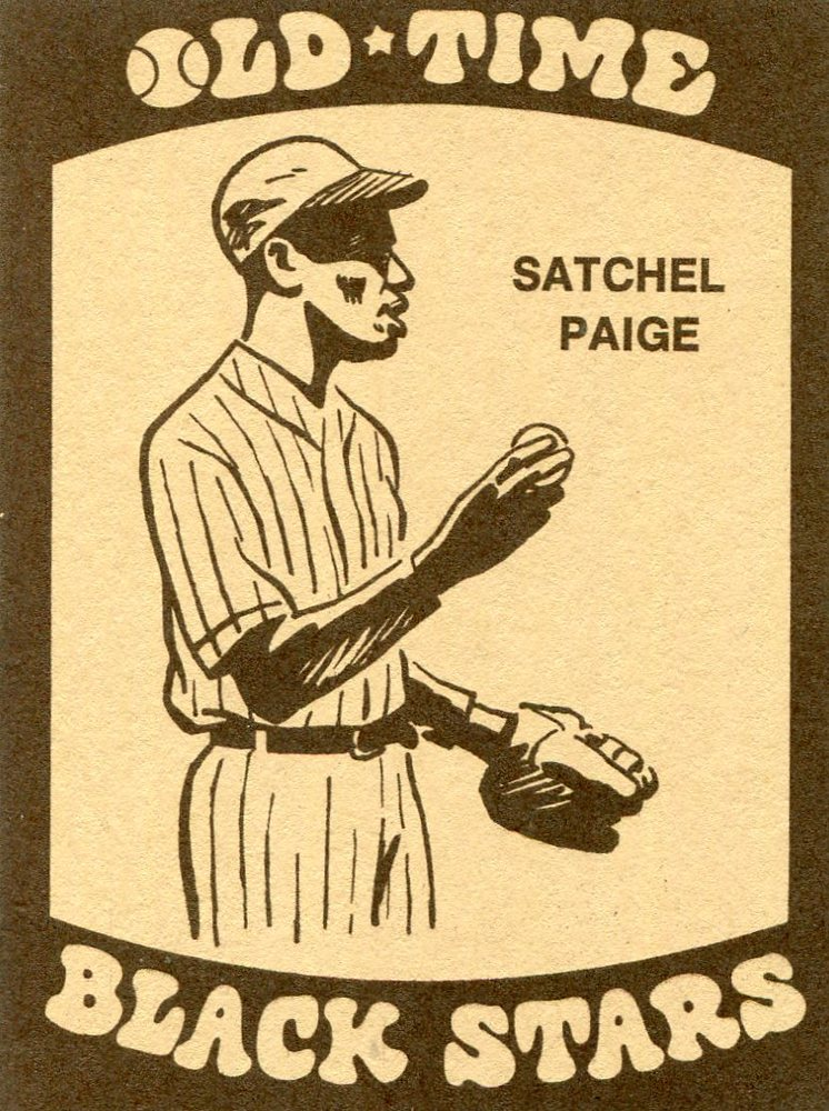 1974 Laughlin Old Time Black Stars #15 Satchel Paige