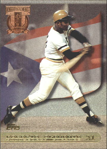 Photo of 1998 Topps Clemente Tribute #RC3 Roberto Clemente/Follow through on swing