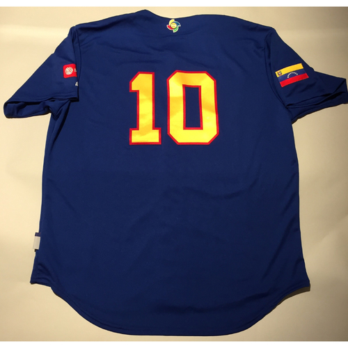 Photo of 2017 WBC: Venezuela Batting Practice Jersey, #10