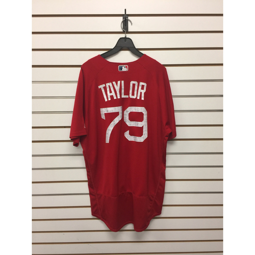 Photo of Ben Taylor Team-Issued 2017 Spring Training Jersey