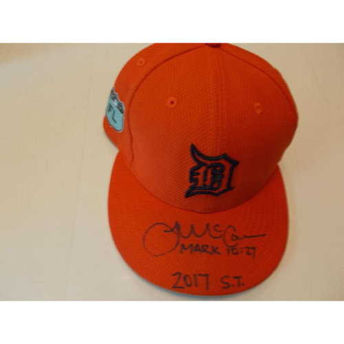 Photo of Autographed Team-Issued James McCann Spring Training Cap