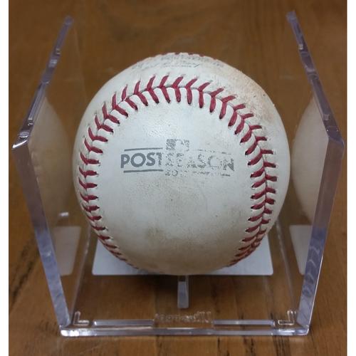 Photo of NLDS Game 5 Game-Used Baseball: Willson Contreras Single