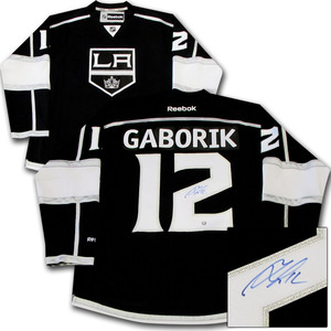 Marian Gaborik Autographed Los Angeles Kings Jersey