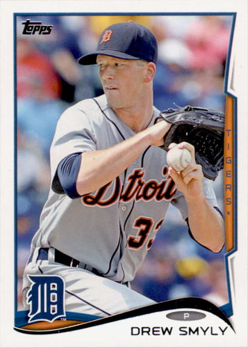 Photo of 2014 Topps #381 Drew Smyly