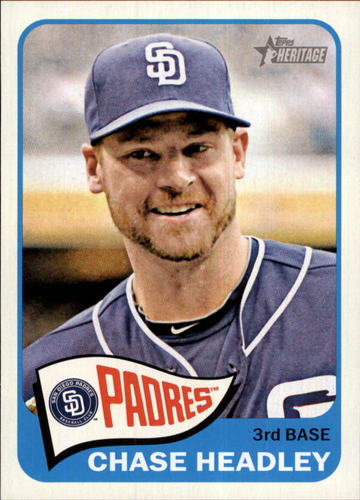 Photo of 2014 Topps Heritage #117 Chase Headley