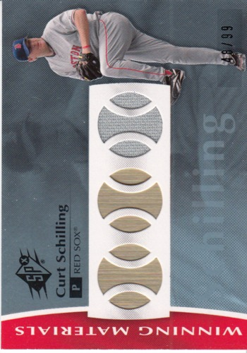 Photo of 2008 SPx Winning Materials Baseball 99 #CS Curt Schilling