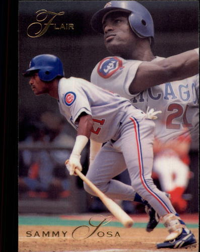 Photo of 1993 Flair #22 Sammy Sosa