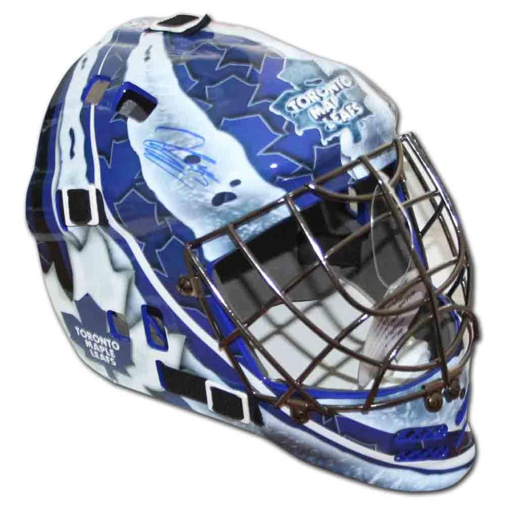 Jonathan Bernier Autographed Toronto Maple Leafs Replica Goalie Mask