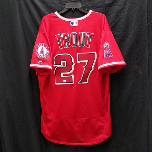 Photo of Kershaw's Challenge: Mike Trout Autographed Game-Used Jersey
