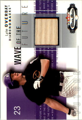 Photo of 2003 Fleer Box Score Wave of the Future Game Used #LO Lyle Overbay Bat