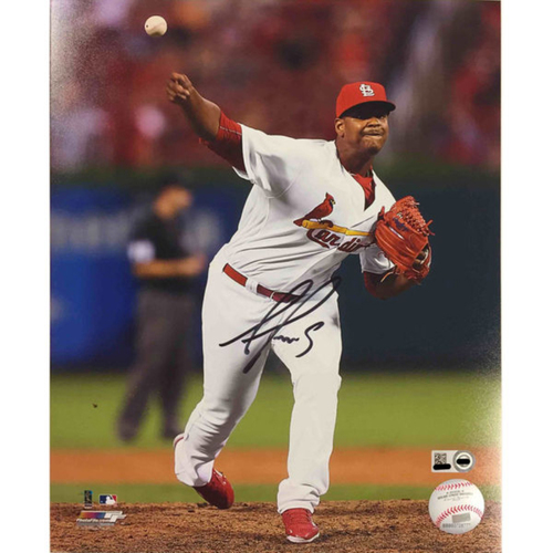 Cardinals Authentics: Alex Reyes Autographed Photo