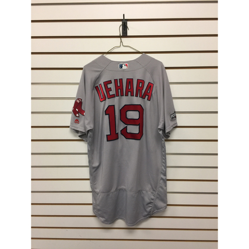 Koji Uehara Game-Used September 28, 2016 Road Jersey