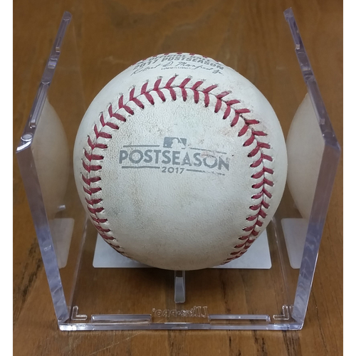 Photo of NLDS Game 5 Game-Used Baseball: Bryce Harper Double