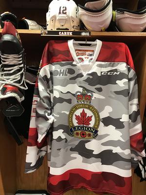 Bryce Caruk camo jersey