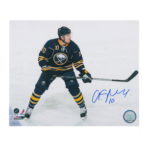 CRISTIAN ERHOFF Signed Buffalo Sabres 8 X 10 Photo - 70455