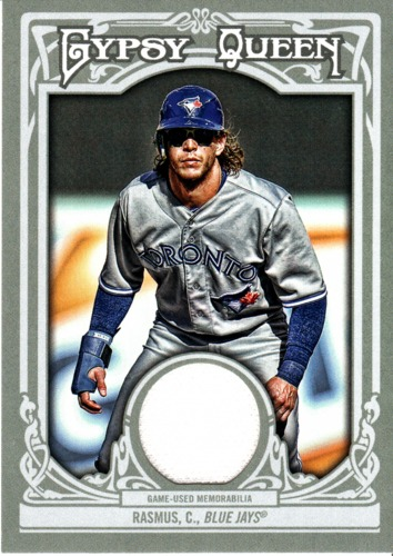 Photo of 2013 Topps Gypsy Queen Relics #CR Colby Rasmus