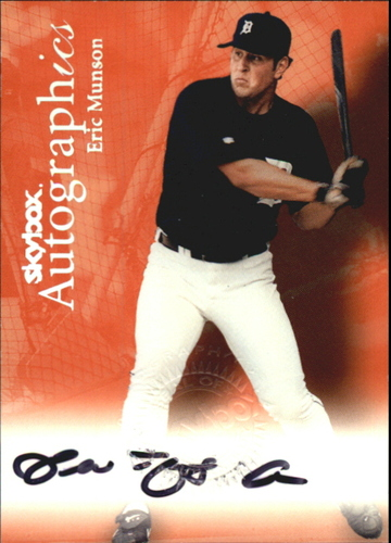 Photo of 2000 SkyBox Autographics #94 Eric Munson