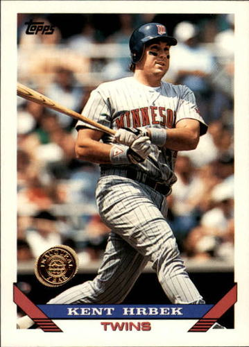 Photo of 1993 Topps Inaugural Rockies #9 Kent Hrbek
