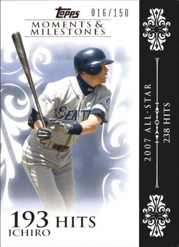 Photo of 2008 Topps Moments and Milestones #63-193 Ichiro Suzuki
