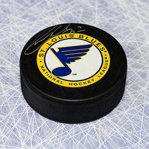 Garry Unger St. Louis Blues Autographed Hockey Puck