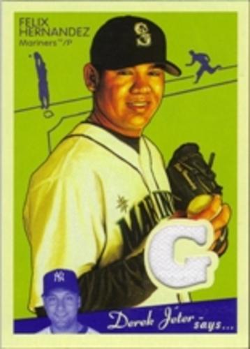 Photo of 2008 Upper Deck Goudey Memorabilia #FH Felix Hernandez Jersey