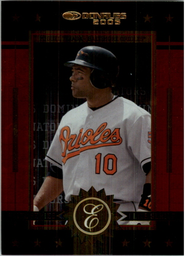Photo of 2005 Donruss Elite Series Dominators #15 Miguel Tejada