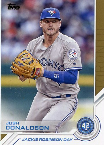 Photo of 2017 Topps Jackie Robinson Day #JRD2 Josh Donaldson