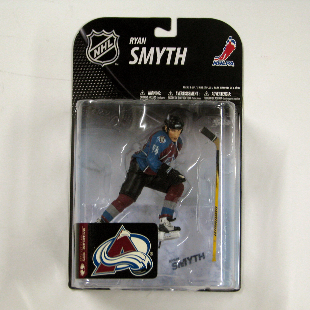 RYAN SMYTH Mcfarlane 19 Figure - MIB - Colorado Avalanche