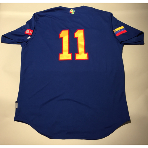 Photo of 2017 WBC: Venezuela Batting Practice Jersey, #11