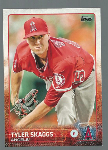 Photo of 2015 Topps #74 Tyler Skaggs
