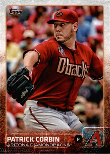 Photo of 2015 Topps #558 Patrick Corbin