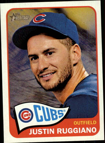 Photo of 2014 Topps Heritage #118 Justin Ruggiano
