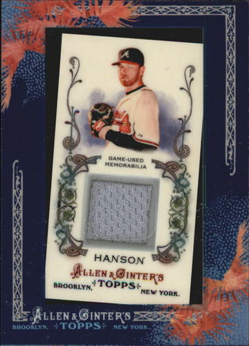 Photo of 2011 Topps Allen and Ginter Relics #THA Tommy Hanson