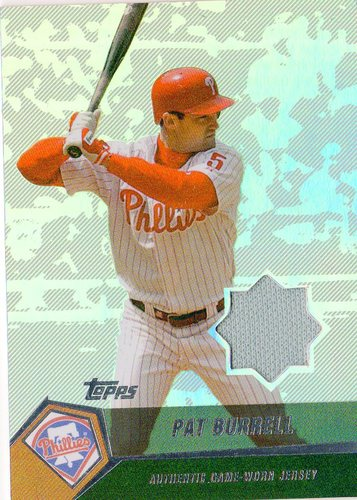Photo of 2004 Topps Clubhouse Relics #PB Pat Burrell Jsy E