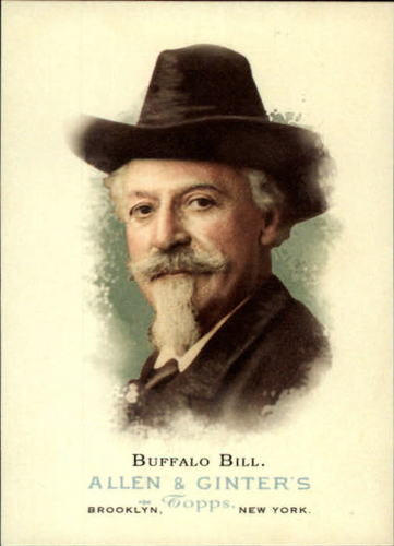 Photo of 2006 Topps Allen and Ginter #348 Buffalo Bill