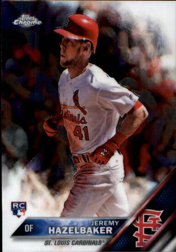 Photo of 2016 Topps Chrome #110 Jeremy Hazelbaker RC