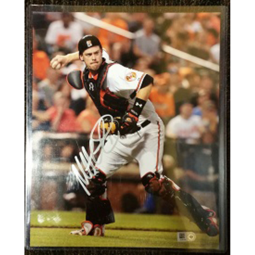 Photo of Matt Wieters - Picture: Autographed