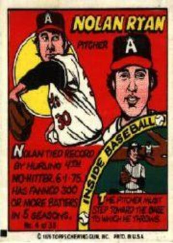 Photo of 1979 Topps Comics #4 Nolan Ryan