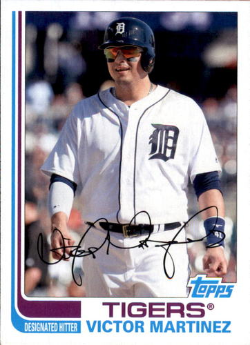 Photo of 2017 Topps Archives #152 Victor Martinez