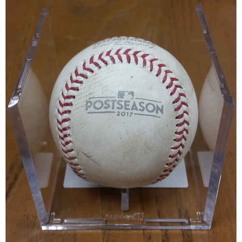 Photo of NLDS Game 5 Game-Used Baseball: Kris Bryant Double