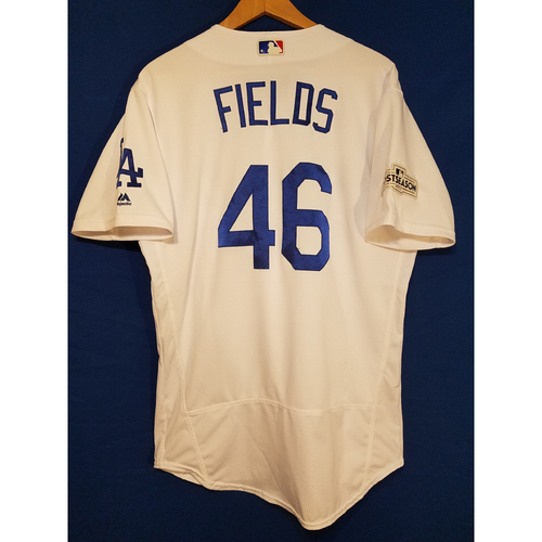 Photo of Josh Fields Home 2017 Team-Issued Post Season Jersey