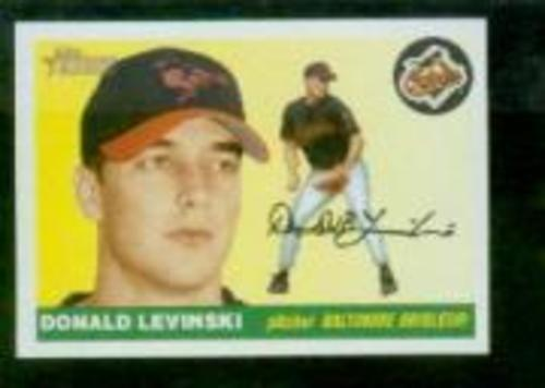 Photo of 2004 Topps Heritage #389 Donald Levinski RC