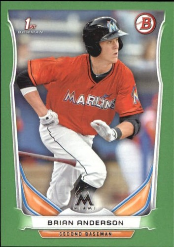 Photo of 2014 Bowman Draft Green #DP91 Brian Anderson