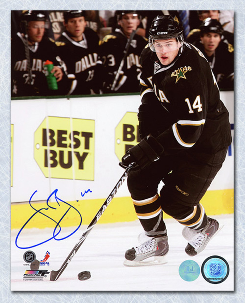 Jamie Benn Dallas Stars Autographed Hockey 8x10 Photo