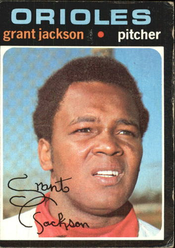 Photo of 1971 Topps #392 Grant Jackson